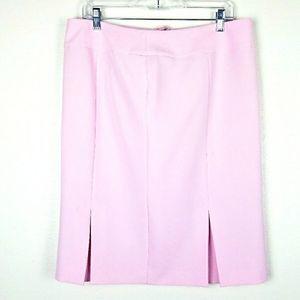 NWT Evan Picone Pastel Pink Pleated Skirt